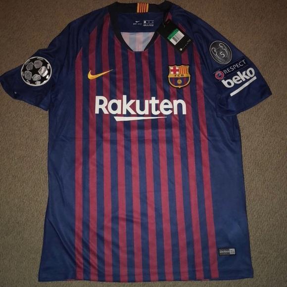 Nike Shirts 20182019 New Fc Barcelona Jersey Poshmark